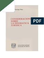 Carlos Santiago Nino - Consideraciones Sobre La Dogmatica Juridica