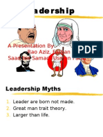 great leaders and their leaders