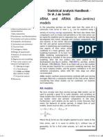Statistical Analysis Handbook