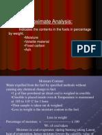 Proximate n Ultimate Analysis