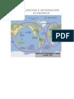 GLOBALIZACIÓN E INTEGRACIÓN ECONÓMICA