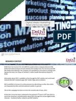 Baseline Survey on Digital Media Marketing