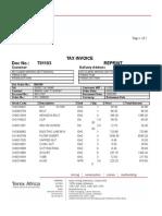 Invoice T01103
