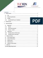 Design of Sheet Pile Bracing