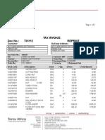 Invoice T01112