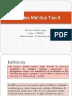 Diabetes Mellitus Tipo II - Messarina Azañedo Jorge