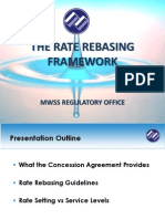 Rate Rebasing Concepts for Public Consultation, MWSS