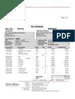 Invoice T01153
