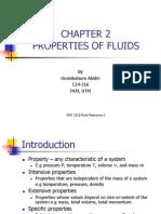 Properties of fluids