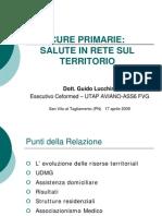 Guido Lucchini, Esecutivo Ceformed FGG UTAP Aviano ASS 6