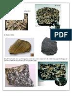 Identificacion de Rocas