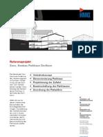 Zuoz GR, Neubau Parkhaus Dorfkern durch die HMQ AG