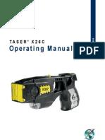 Taser X26 Manual