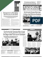 Versión impresa del periódico El mexiquense 13 junio 2013