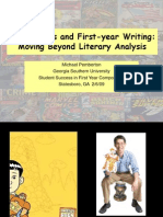 american born chinese comic books and first-year writing - moving beyond literary analysis