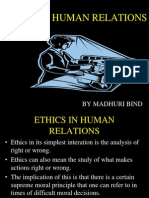 Ethics in Human Relation