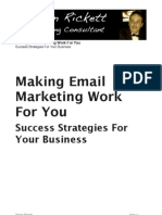 Simon Rickett - The Power of Email Marketing