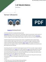 Sensor Ultrasonic _ Catatan Kuliah Di Teknik Elektro