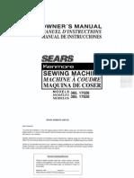 Kenmore 385 170265 Manual