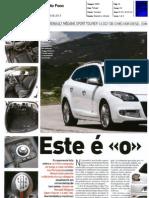"""RENAULT MÉGANE SPORT TOURER 1.6 dCi 130 NA """"AUTO FOCO"""""""