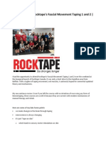 Course Review Rocktape's Fascial Movement Taping 1 and 2 RockTape Canada