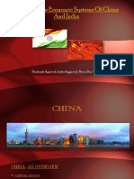 Comparative Economic Systems of China and India