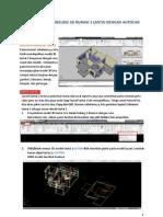 Tutorial Cepat Modeling 3d Rumah 2 Lantai Dengan Autocad Architecture-part2