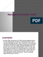 1.Managerial Process Skillls