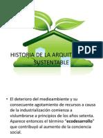 Historia de La Arquitectura Sustentable