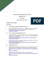 Espainiako Kongresua, ministroei galderak 2009.04.29