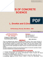 The Basics of Concrete Science