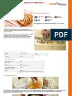 GZRic Strudel Di Pasta Di Pane Con Verdure e Robiola