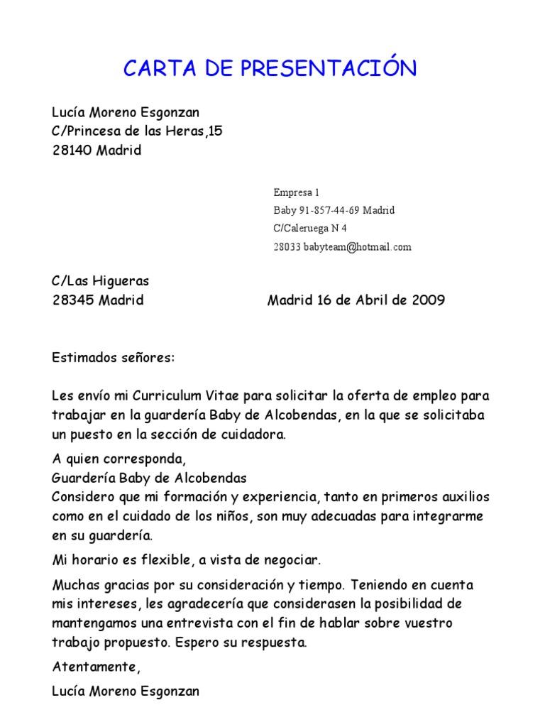 Único Carta De Presentación Del Curriculum Vitae Del Psiquiatra ...