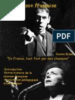 Chanson française - juin 2013