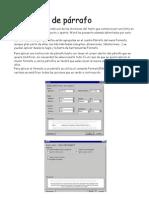 Formato de párrafo,inserción de imagen silvia y marta