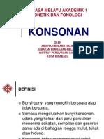 FF Konsonan