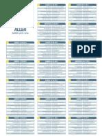 Calendrier de Ligue 1 2013/2014