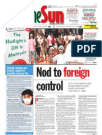 thesun 2009-04-28 page01 nod to foreign control
