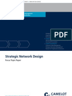 Camelot Strategic-network-Design Supply Chain Management