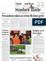 04/28/09 The Stanford Daily [PDF]
