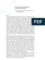 Donoso Cortes - Discorso Sull'Europa