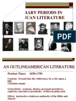 An Outline of American Literature1