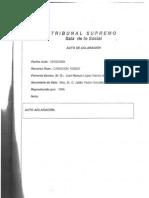 Aclaración Sentencia Tribunal Supremo Digitex Informática  06/10/2008