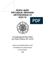 Buku Ajar Orto IV Th 2008