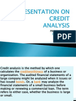 Credit Analysis Presentation