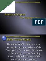 Financing New Venture