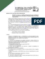 RESOLUÇÃO N 4.223 ESTABLECE OS TERMOS E CONDIÇÕES FINANCIAMENTO BENS CONSUMO AOS BENEFICARIOS PROGRAMA MINHA CASA MINHA VIDA