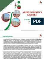 Aegis Logistics Ltd 110313