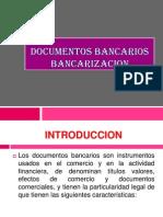 Documentos Bancarios - Operaciones Pasivas (1)
