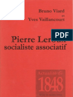 Pierre Leroux Socialiste Associatif